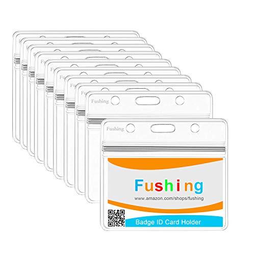 Fushing 10PCS Clear Waterproof...