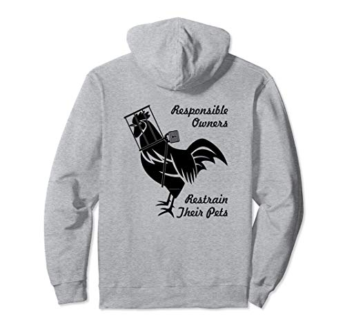 Responsible Owners - Femdom Cock Cage Male Chastity Pullover Hoodie