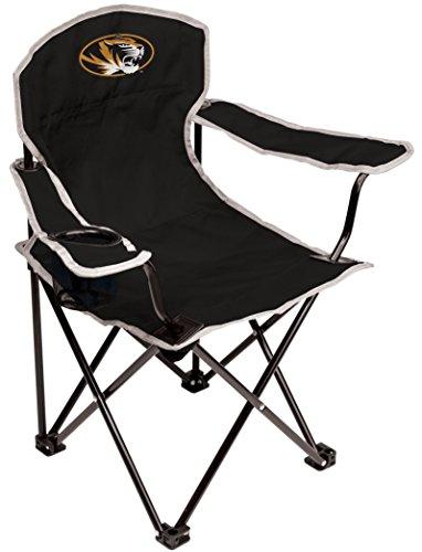 NCAA Missouri Tigers Youth Folding Chair, Black