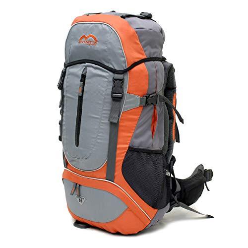MONTIS MOANA 50, mochila de trekking y senderismo, 50 l, 70 x 32, 1900 g