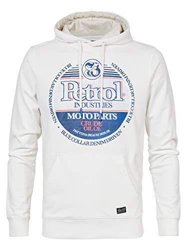 Petrol Industries Herren Sweatshirt M-1000-SWH300, Farbe:Chalk White, Größe:XXL
