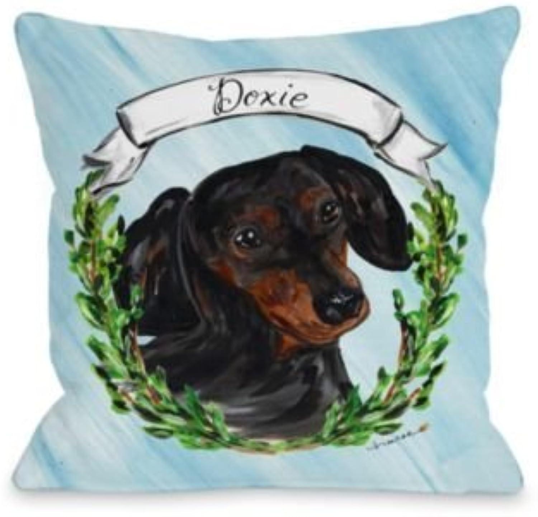 Bentin Pet Décor 13539PL18 Pillow, 18 by 18 , bluee