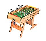 Table 3 Jeux en 1 Pliable - BabyFoot - Basket Ball - Fléchettes, 122 x 61 x 82 cm