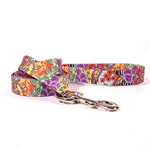 Yellow Dog Design Amazon Floral Lead, 1-Inch by 60-Inch