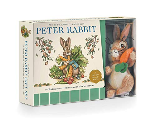 Compare Textbook Prices for The Peter Rabbit Plush Gift Set: The Classic Edition Board Book + Plush Gift Set Box Pck Br Edition ISBN 9781604336856 by Potter, Beatrix,Santore, Charles