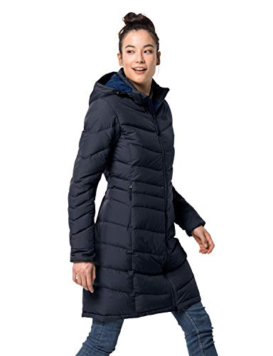 Jack Wolfskin Damen Selenium Mantel, Midnight Blue, L