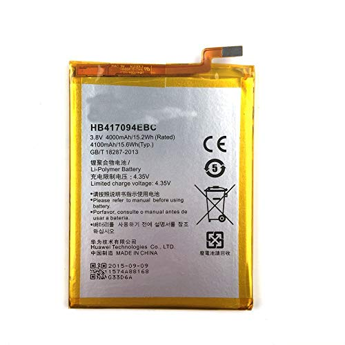 BPX Battery HB417094EBC 4100mAh for Huawei Ascend Mate 7 Mate7 MT7 TL00 TL10 UL00 CL00