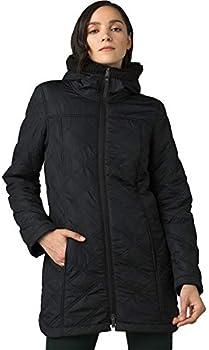 prAna Women's Esla Coat with Ultra Suede