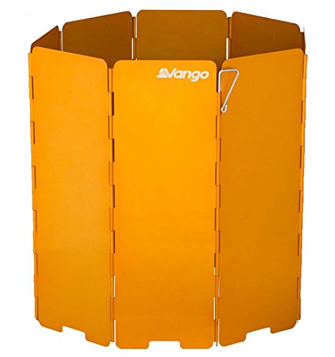 Vango Windshield XL for Backpacking Accessory for Camping Stove-Orange, X-Large