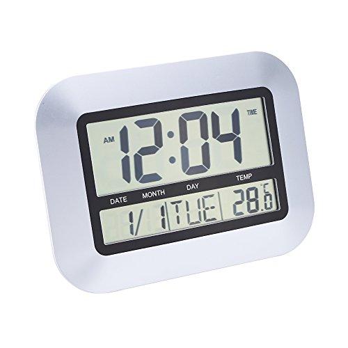 Multi-fonction Thermomètre Electronique Calendrier Compteur Alarme Horloge Digital