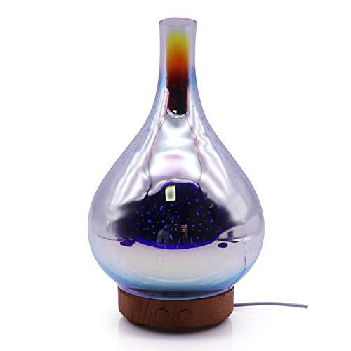 TYWZF Difusor De Aceite De Aire Humidificador Ultrasonicfor Inicio 3Dcolorful Mini LED Aroma Difusor Aromaterapia