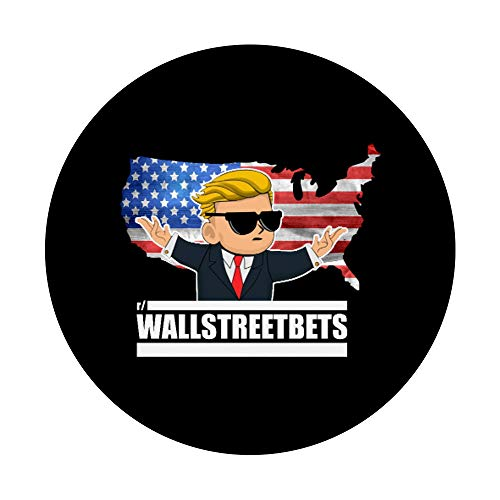 41TzAv1 0zL - Wallstreetbets Stock Market Options Trading WSB Tendies PopSockets PopGrip: Swappable Grip for Phones & Tablets