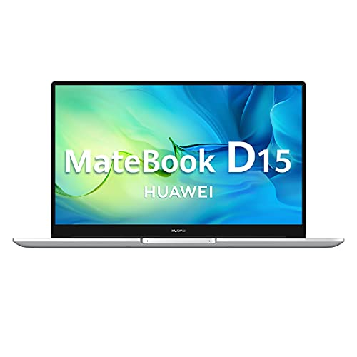 "Huawei Matebook D15 - 15.6 Ultrathin Laptop"" FullHD (Intel Core i3-10110U, 8GB RAM, 256GB SSD, Graphics Intel UHD 620, Windows 10 Home) Plata - Keyboard Español"