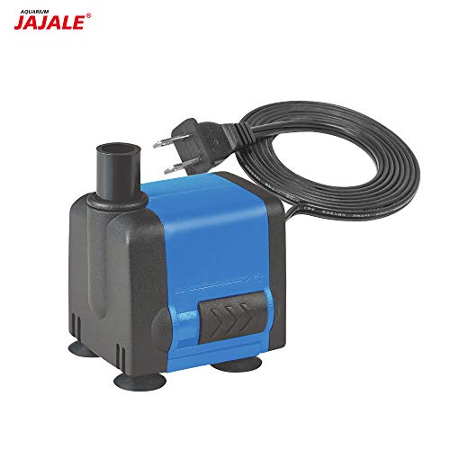 JAJALE 133 GPH Submersible Water Pump Ultra Quiet for Pond,Aquarium,Fish Tank,Fountain,Hydroponics