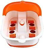 Hojo Foot Spa Footbath and Roller Massager for Pain Relieve and Feet Care