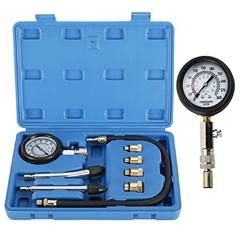 Sayiant Tester di compressione multifunzione per la compressione del motore, per controllare la compressione degli attrezzi per auto e moto