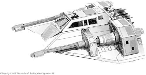 Fascinations Metal Earth MMS258 - 502651, Snowspeeder, Konstruktionsspielzeug, 2 Metallplatinen, ab 14 Jahren