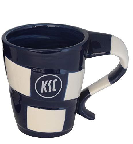 Karlsruher SC Tasse Schal KSC Tee/Kaffeebecher 0,3 Liter