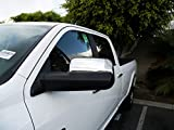 TFP 599 Mirror Covers - Chrome - Compatible with Dodge Ram 2500 10-18 Towing Mirror 84302