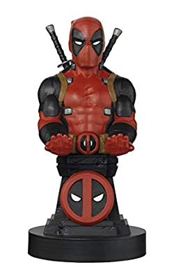 Exquisite Gaming Cable Guy - Marvel Deadpool - Charging Controller and Device Holder - Toy - Xbox 360 by Exquisite Gaming