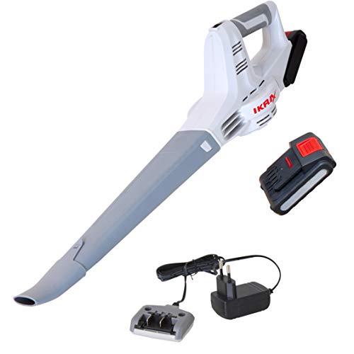 Ikara IAB 20-1 Accu-bladblazer, ergonomisch, compact en gering gewicht, inclusief accu en oplader
