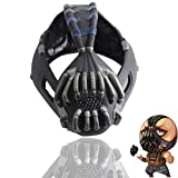 X-COSTUME Bane Mask The Dark Knight Rises Helmet Update Replica Mask for Halloween Cosplay Costume Props