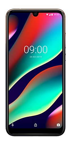 WIKO VIEW3 PRO Smartphone, 64GB + 4GB, 6,3 Zoll (16cm), FHD+ Display, Triple-Kamera, 4000 mAh Akku, Schnellladen, Dual-SIM, Android 9.0 Pei, Anthracite Blue/Gold