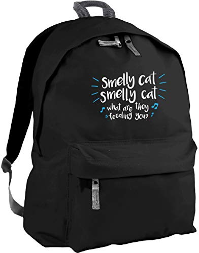 HippoWarehouse Smelly cat Smelly cat What are They Feeding You Backpack ruck Sack Dimensions: 31 x 42 x 21 cm Capacity: 18 litres