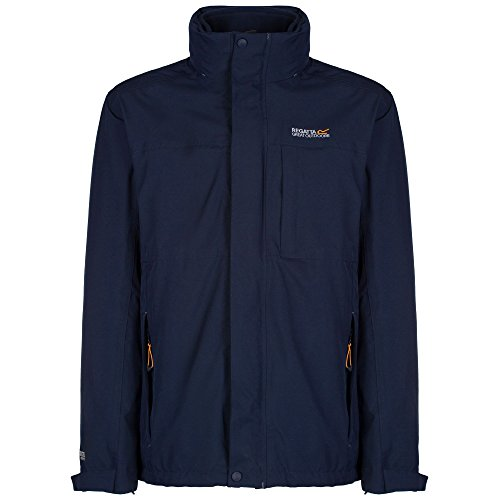 Regatta Great Outdoors Herren Outdoor Classics 3in1 Jacke Northmore (2XL) (Marineblau)