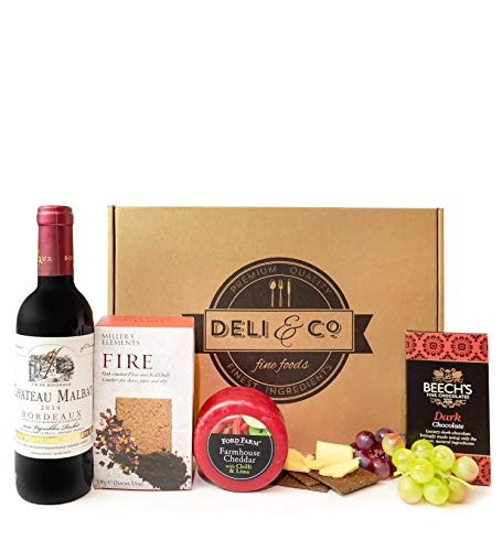 Cheese & Red Wine Gift - Free Delivery - Cheese Hampers - Cheese Gifts - Food Hampers