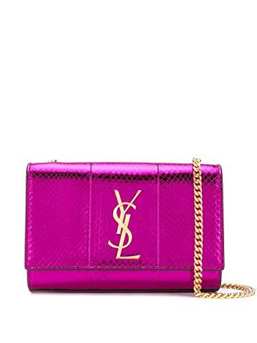 Saint Laurent Luxury Fashion Damen 469390LZA0J5508 Violett Schultertasche |