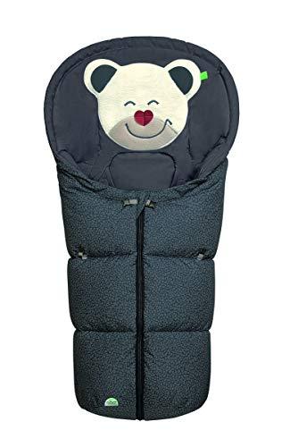 Odenwälder Fußsäckchen Mucki für Gr. 0 Babyschale fashion Pebbles stone
