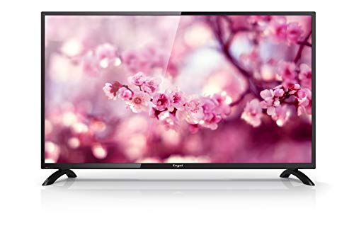 Engel 40 Pouces Le 4060 T2 Full HD TV avec TNT HD, DVB-T2, Dolby Digital Plus, PVR et Time Shift - Noir