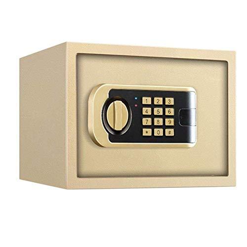 Caja segura caja de seguridad de seguridad caja de seguridad digital electrónica pequeña pared electrónica gabinete de doble llave con gabinete de teclado cajas fuertes for documentos de identificació