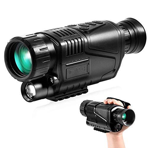Kettles Infrarot-Nachtsicht-Monokular-Goggles-Umfang, 8x40 HD Digital-Nachtsichtsoptik Scope-Kamera mit Fotos und Videoplayback-Funktion, für Jagd, Vogelbeobachtungswanderung Camping (Color : 303)