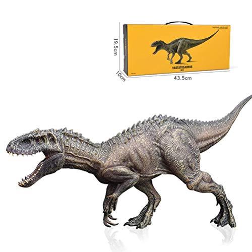 Jurásico Indominus Rex Dinosaurio Modelo, El Plastico Mundo Jurasico Dinosaurio Figura Animal Figurilla, Dinosaurio Juguete Figuras de Acción Boca Abierta, Realista Educativo Modelo Regalo por Niños