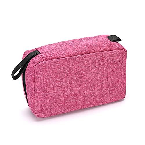 Borsa per cosmetici da viaggio da appendere per doccia, borsa da toeletta, borsa da viaggio, grande capacità, disponibile in sette colori (colore A)