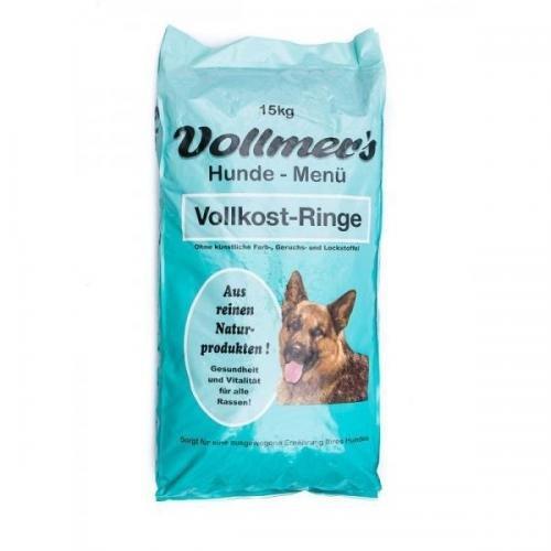 Vollmers Vollkost-Ringe 15 kg, Trockenfutter, Hundefutter