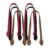 Artibetter Manici per borsa in pelle 6 pezzi cinturini in pelle per borse accessori per borsa