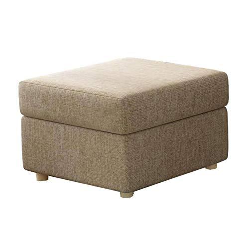 XpFac Store Reposapiés con Almacenamiento El saqueo de sofá Puede acomodar Tela de Madera Maciza Multifuncional de Doble propósito, 12 tamaños for Elegir (Color : Bronze, Size : 90 * 70 * 40cm)