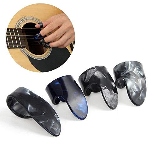waterfaill 1 Pulgar + 3 Dedos Púas De Guitarra
