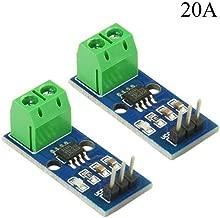 XLX 2PCS ACS712 20A AC and DC Current Sensor Module ACS712-20A Module Highly SensitiveHigh Efficient for Arduino (20A)
