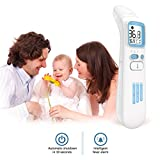 Dantazz High-Precision Forehead/Ear Thermometer for Baby Non-Contact Infrared Digital Thermometer Body Temporal Thermometer