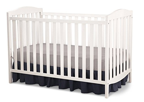 Delta Children Capri 3-in-1 Convertible Baby Crib, White