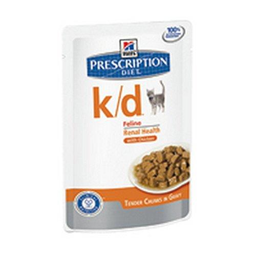 Hill's Prescription Diet Gatto K/D Pollo Bocconcini 12 x 85 Gramm