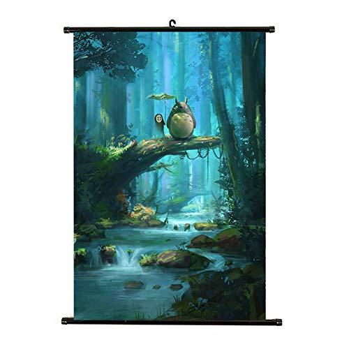 Haushele OFD Japanische Anime Darling in The FRANKXX leinwand wasserdicht raumdekoration Totoro Mob Psycho 100 Sammlung Shop Thema Dekoration Poster gemälde(H03)
