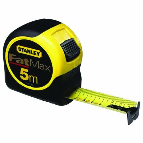 Stanley 0-33-720 Metric Fatmax Blade Armor Tape Measure, 5m