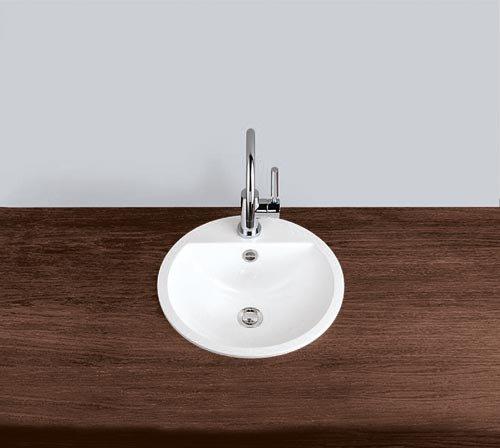 Alape Waschbecken EB.S450H Weiß, ohne Überlauf