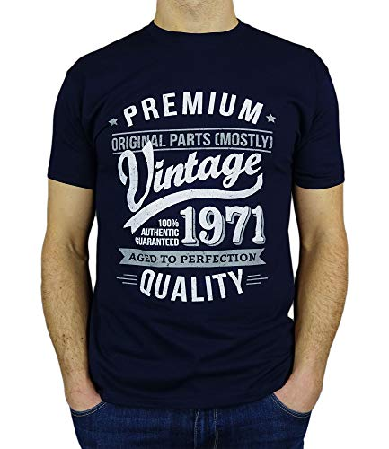 My Generation T-Shirts Vintage Year - Aged to Perfection - 50th Birthday Gift/Present Mens T-Shirt...