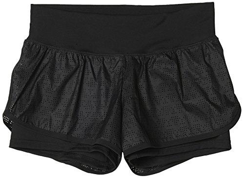 adidas Gym 2In1 Short - Pantalón Corto para Mujer, Talla XL, Color Negro/Negro